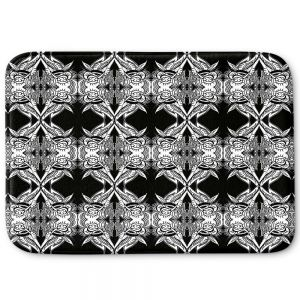 Decorative Bathroom Mats | Susie Kunzelman - Black Swag
