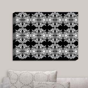 Decorative Canvas Wall Art | Susie Kunzelman - Black Swag