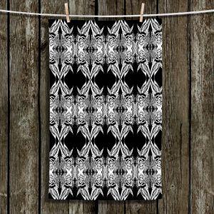 Unique Hanging Tea Towels | Susie Kunzelman - Black Swag | Patterns