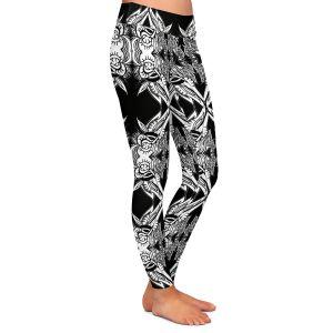 Casual Comfortable Leggings | Susie Kunzelman Black Swag
