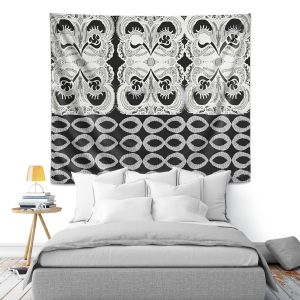 Artistic Wall Tapestry | Susie Kunzelman Black Veil