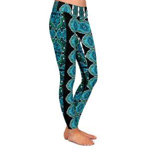Casual Comfortable Leggings | Susie Kunzelman Blue Bonnet II