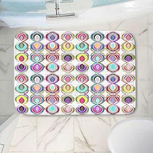 Decorative Bathroom Mats | Susie Kunzelman - Bocci l | Patterns Geometric Boho Chic