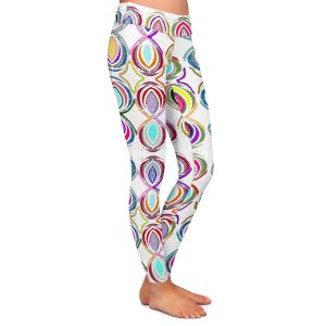 Casual Comfortable Leggings | Susie Kunzelman - Bocci l | Patterns Geometric Boho Chic
