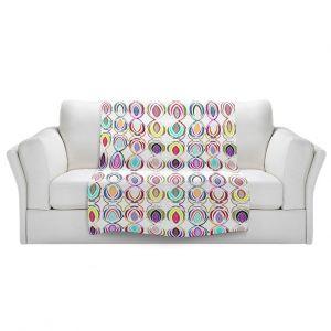 Artistic Sherpa Pile Blankets   Susie Kunzelman - Bocci lll   Patterns Geometric Boho Chic