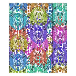Decorative Wood Plank Wall Art   Susie Kunzelman - Butterfly Party   Patterns Abstract