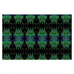 Decorative Floor Coverings | Susie Kunzelman Deep Blue Sea II