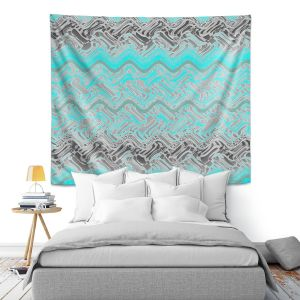 Artistic Wall Tapestry | Susie Kunzelman - Ditto 1 | Abstract pattern