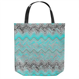 Unique Shoulder Bag Tote Bags | Susie Kunzelman - Ditto 1 | Abstract pattern