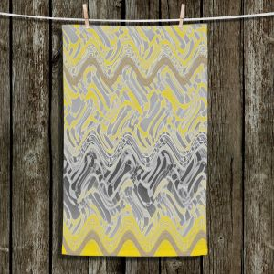 Unique Hanging Tea Towels | Susie Kunzelman - Ditto 2 | Abstract pattern