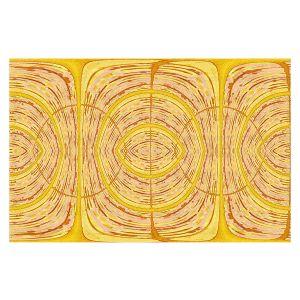 Decorative Floor Covering Mats | Susie Kunzelman - Door Number 1 | Abstract pattern