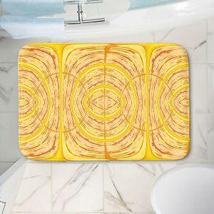 Decorative Bathroom Mats | Susie Kunzelman - Door Number 1 | Abstract pattern