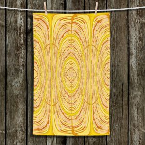 Unique Bathroom Towels | Susie Kunzelman - Door Number 1 | Abstract pattern