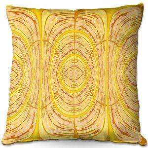 Decorative Outdoor Patio Pillow Cushion   Susie Kunzelman - Door Number 1   Abstract pattern