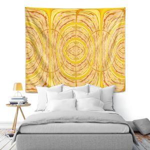 Artistic Wall Tapestry | Susie Kunzelman - Door Number 1 | Abstract pattern