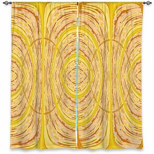 Decorative Window Treatments | Susie Kunzelman - Door Number 1 | Abstract pattern