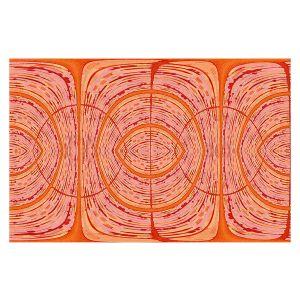 Decorative Floor Covering Mats | Susie Kunzelman - Door Number 2 | Abstract pattern