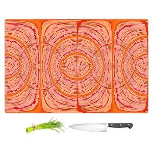 Artistic Kitchen Bar Cutting Boards | Susie Kunzelman - Door Number 2 | Abstract pattern