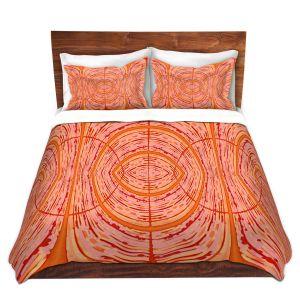 Artistic Duvet Covers and Shams Bedding | Susie Kunzelman - Door Number 2 | Abstract pattern