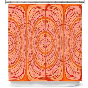 Premium Shower Curtains | Susie Kunzelman - Door Number 2 | Abstract pattern