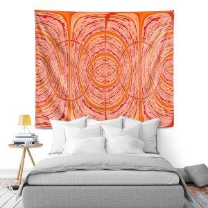 Artistic Wall Tapestry | Susie Kunzelman - Door Number 2 | Abstract pattern