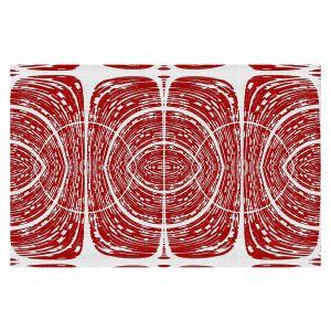 Decorative Floor Covering Mats | Susie Kunzelman - Door Number 6 | Abstract pattern