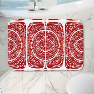 Decorative Bathroom Mats | Susie Kunzelman - Door Number 6 | Abstract pattern
