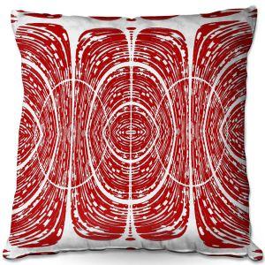 Throw Pillows Decorative Artistic | Susie Kunzelman - Door Number 6 | Abstract pattern