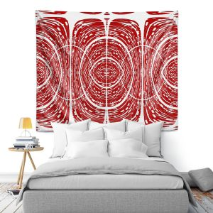 Artistic Wall Tapestry | Susie Kunzelman - Door Number 6 | Abstract pattern