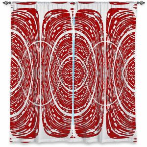 Decorative Window Treatments | Susie Kunzelman - Door Number 6 | Abstract pattern