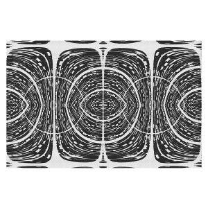 Decorative Floor Covering Mats | Susie Kunzelman - Door Number 7 | Abstract pattern