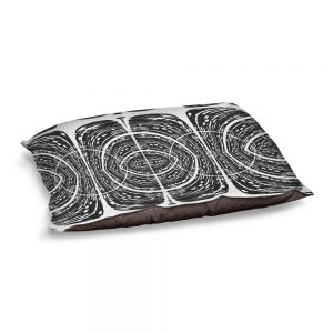 Decorative Dog Pet Beds | Susie Kunzelman - Door Number 7 | Abstract pattern