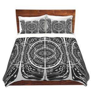 Artistic Duvet Covers and Shams Bedding | Susie Kunzelman - Door Number 7 | Abstract pattern
