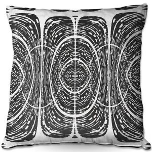 Throw Pillows Decorative Artistic | Susie Kunzelman - Door Number 7 | Abstract pattern