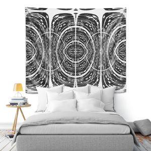 Artistic Wall Tapestry | Susie Kunzelman - Door Number 7 | Abstract pattern