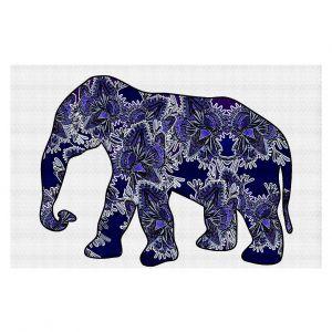 Decorative Floor Coverings | Susie Kunzelman Elephant 5