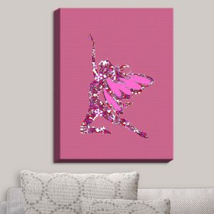 Decorative Canvas Wall Art | Susie Kunzelman - Fairy Come Fly Pink