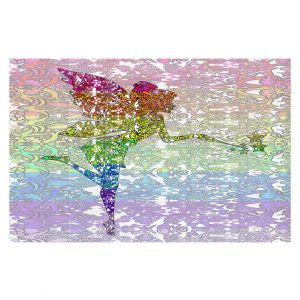 Decorative Floor Coverings | Susie Kunzelman - Fairy Dance Rainbow