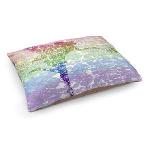 Decorative Dog Pet Beds | Susie Kunzelman - Fairy Dance Rainbow