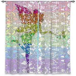 Decorative Window Treatments | Susie Kunzelman - Fairy Dance Rainbow