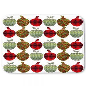 Decorative Bathroom Mats   Susie Kunzelman - Farm Apples   fruit pattern repetition