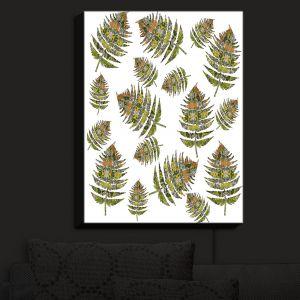 Nightlight Sconce Canvas Light | Susie Kunzelman - Fern 2 Greens