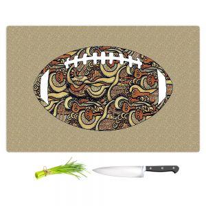Artistic Kitchen Bar Cutting Boards   Susie Kunzelman - Football Away Game