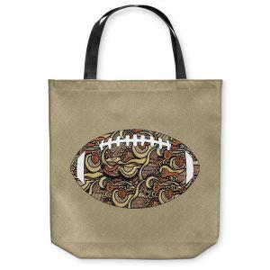 Unique Shoulder Bag Tote Bags | Susie Kunzelman - Football Away Game