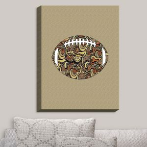 Decorative Canvas Wall Art | Susie Kunzelman - Football Away Game