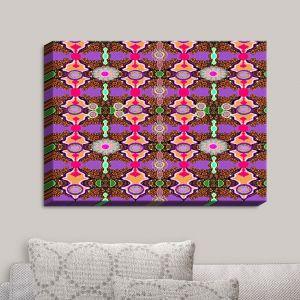 Decorative Canvas Wall Art | Susie Kunzelman - Fractal Purple | Abstract Pattern