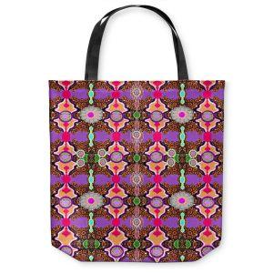 Unique Shoulder Bag Tote Bags |Susie Kunzelman - Fractal Purple