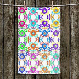 Unique Bathroom Towels | Susie Kunzelman - Gem Stone l | Patterns Geometric