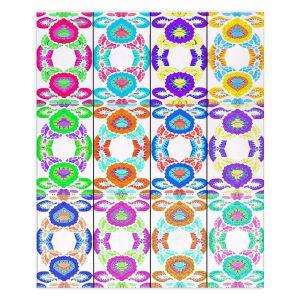 Decorative Wood Plank Wall Art   Susie Kunzelman - Gem Stone l   Patterns Geometric