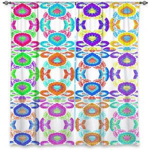 Decorative Window Treatments   Susie Kunzelman - Gem Stone l   Patterns Geometric
